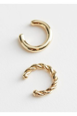 & OTHER STORIES Two Pack Mismatch Ear Cuffs