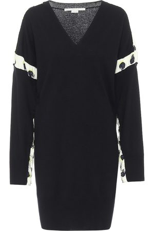 Stella McCartney Wool and silk minidress