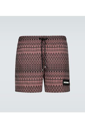 Missoni Mare zig-zag swim shorts