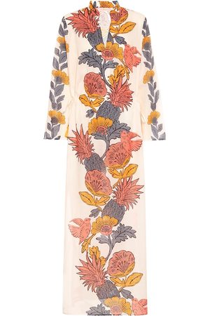 Tory Burch Floral cotton kaftan