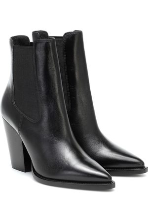 Saint Laurent Leather ankle boots