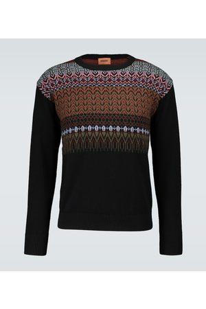 Missoni Crewneck knitted wool sweater