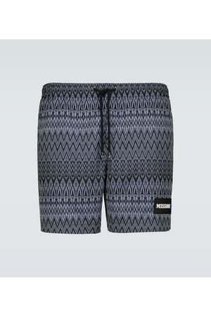 Missoni Men Swim Shorts - Mare zig-zag swim shorts