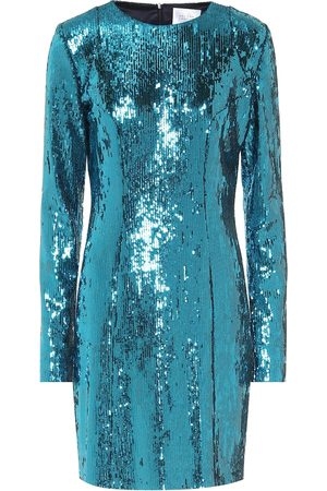 GALVAN Oceana sequined minidress