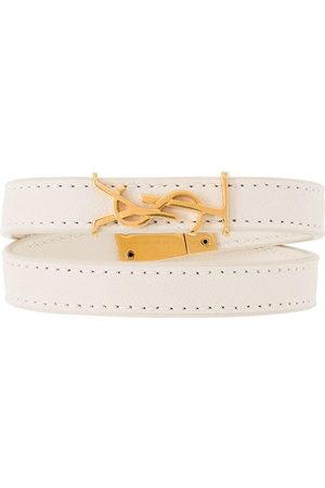 Saint Laurent Wrap bracelet - Neutrals