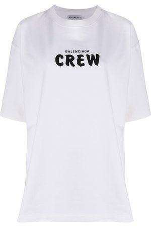 Balenciaga Logo-print cotton T-shirt