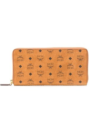 MCM Large Visetos zip-around wallet