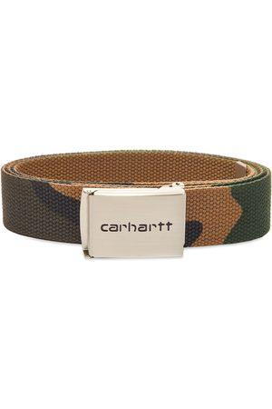 Carhartt Men Belts - Chrome Clip Belt