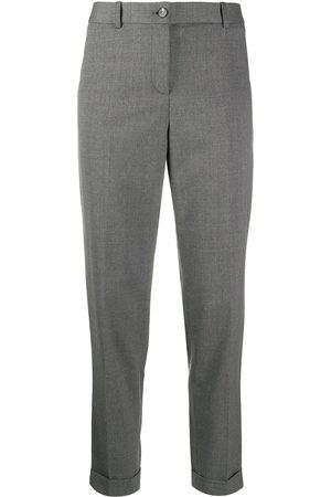 Fabiana Filippi Straight-leg tailored trousers - Grey