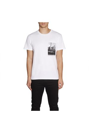 Calvin Klein Ny Photoprint Pocket Tee