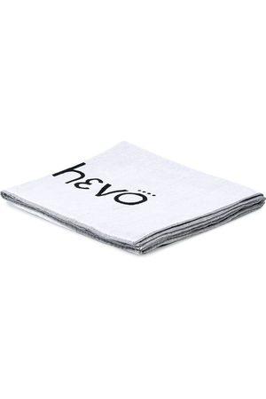 HEVO Printed logo beach towel