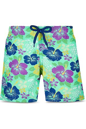 Vilebrequin Boys' Floral Print Swim Trunks - Little Kid, Big Kid