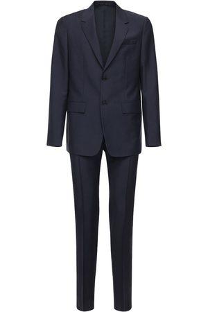 Jil Sander Wool & Mohair Single Breast Suit