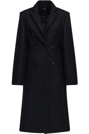 Ellery Wool Blend Double Breast Long Coat