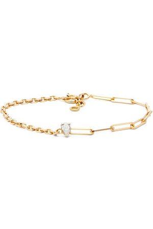 YVONNE LÉON Diamond & 18kt Mixed-chain Bracelet - Womens