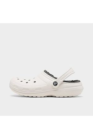 Crocs Classic Lined Clog Shoes in Size 4.0 Fleece