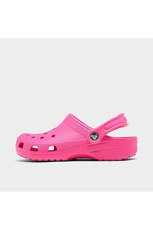 Crocs Girls' Big Kids' Classic Clog Shoes in Size 6.0
