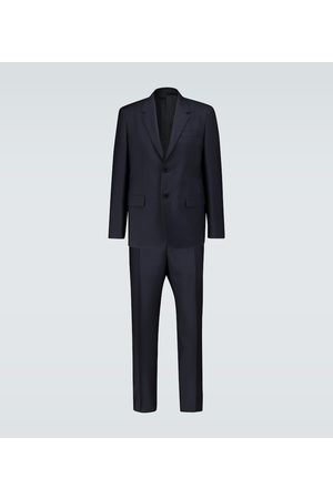 Jil Sander Wool and mohair canvas suit