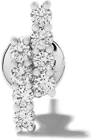 ALINKA 18kt white gold RIVIERA diamond stud earring