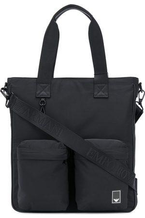 Emporio Armani Multi-pocket logo tote bag