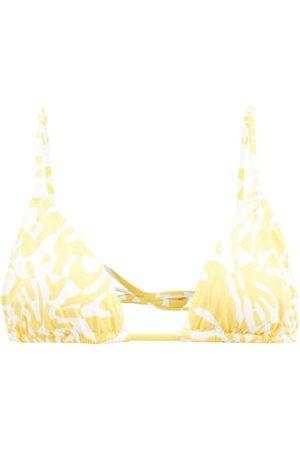 ERES Starfish Coralsand-print Bikini Top - Womens