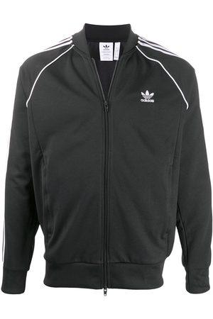 adidas Men Bomber Jackets - Stripe trim track jacket