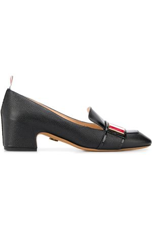 Thom Browne Women Loafers - Tricolour enamel strap loafers