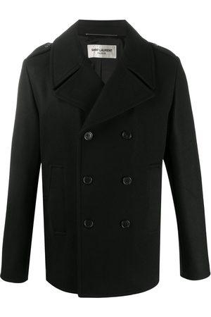 Saint Laurent Men Peacoats - Wool peacoat