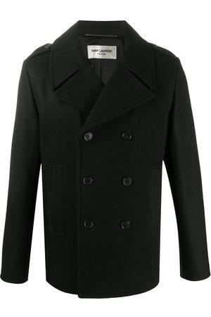 Saint Laurent Wool peacoat