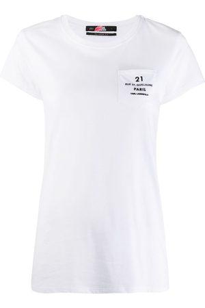 Karl Lagerfeld Address logo pocket T-shirt