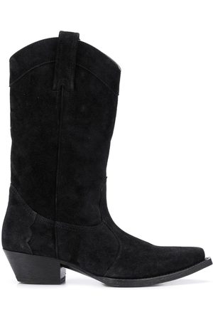 Saint Laurent Lukas 40mm western boots