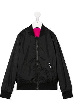 DKNY Zipped logo jacket