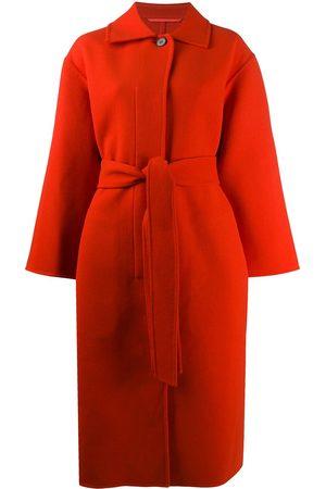 Jil Sander Belted long coat