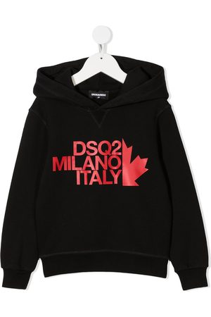 Dsquared2 Milano logo-print hoodie