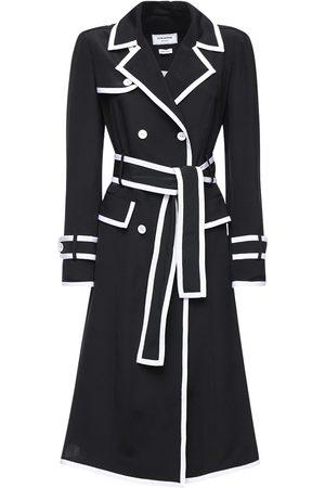 Thom Browne Knee Length Silk Trench Dress