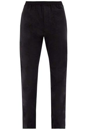The Row Josh Cotton-poplin Trousers - Mens