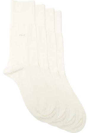 CDLP Men Socks - Pack Of Five Bamboo-blend Crew Socks - Mens