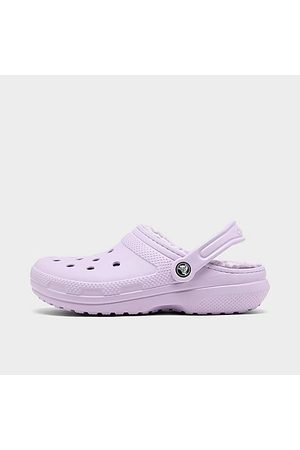 Crocs Classic Lined Clog Shoes in Size 9.0 Fleece