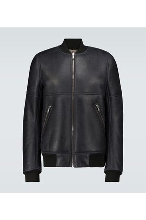 Rick Owens Reversible leather bomber jacket