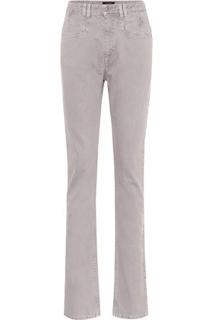 Isabel Marant Women High Waisted - Dominic high-rise straight jeans