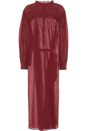 Isabel Marant Women Maxi Dresses - Perkins cotton voile maxi dress