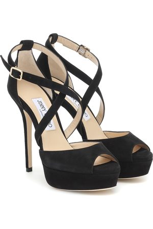 Jimmy Choo Jenique 125 suede sandals
