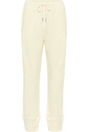 Jil Sander Cotton jersey trackpants