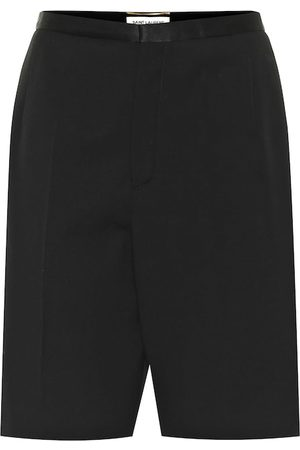 Saint Laurent Virgin wool Bermuda shorts