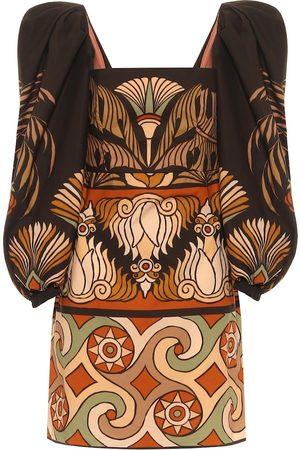 JOHANNA ORTIZ Deluge printed cotton minidress