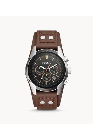 Fossil Men Watches - Men's Coachman Chronograph Leather Watch