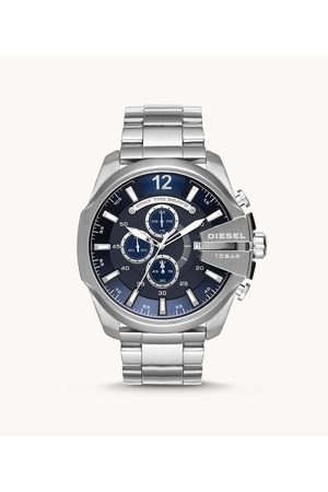 Outlet Men Watches - Diesel Men's Mega Chief Chronograph Stainless Steel Watch