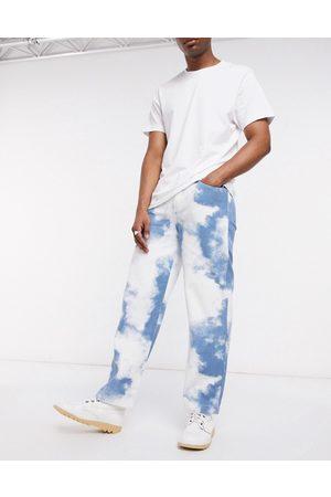 Jaded London Jaded cloud print skate jeans