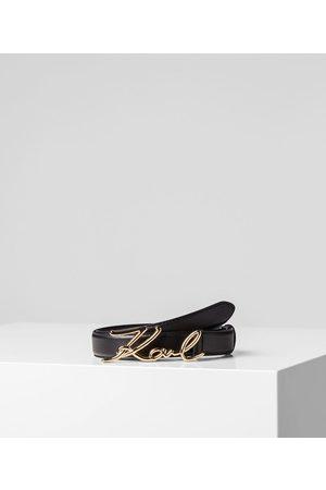 Karl Lagerfeld Women Belts - K/SIGNATURE BELT