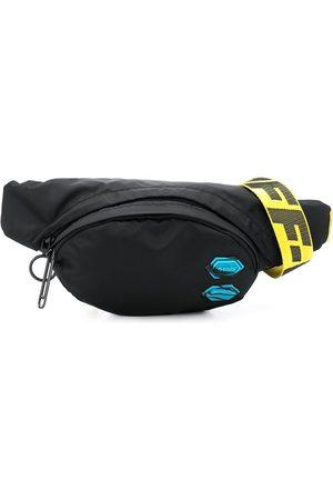 OFF-WHITE Patch detail nylon belt bag